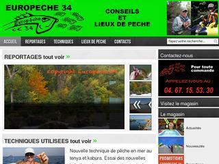 Europêche 34 - Conseils et Lieux de pêche