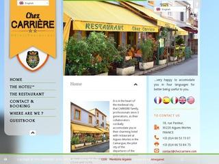 Hotel Restaurant Chez Carrière